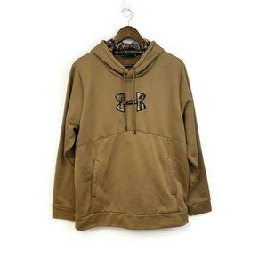 Under Armour Mens Gold Camouflage Pullover Hoodie